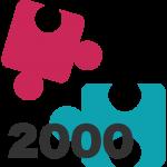 2000 piezas